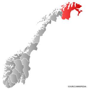 finnmark kart Finnmark Kart   Norge veikart   Detaljert kart med gater