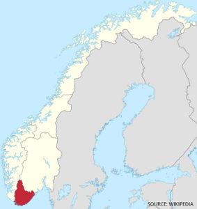 Sorlandet Kart Norge Veikart Detaljert Kart Med Gater